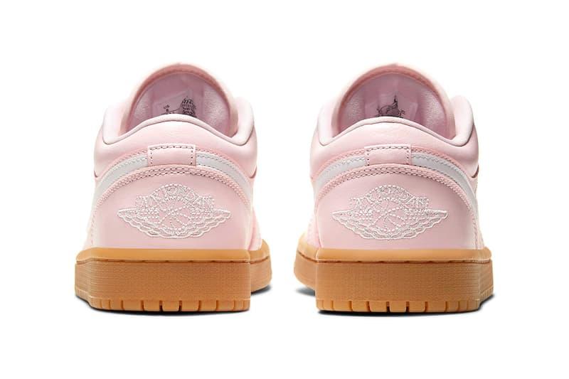 Air Jordan 1 Low Arctic Pink Release Info gum light brown dc0774-601 Buy Price Womens