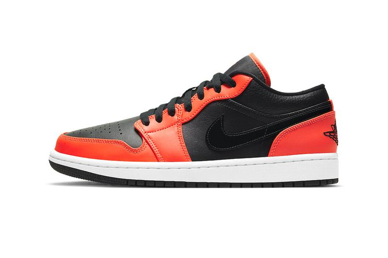 Air Jordan 1 Low SE Black Orange ck3022 008 menswear streetwear kicks sneakers shoes runners trainers court basketball michael jordan 23 jumpman spring summer 2021 collection ss21 info