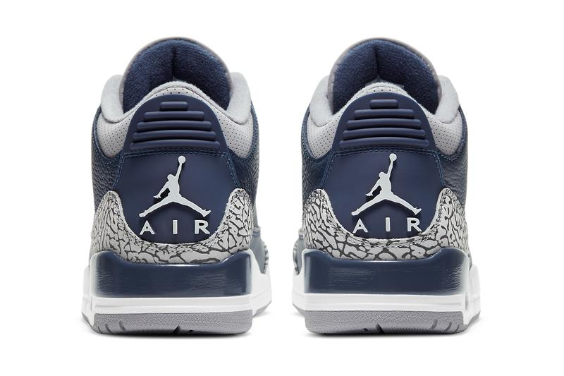 air michael jordan brand 3 midnight navy cement grey white georgetown hoyas ct8532 401 official release date info photos price store list buying guide