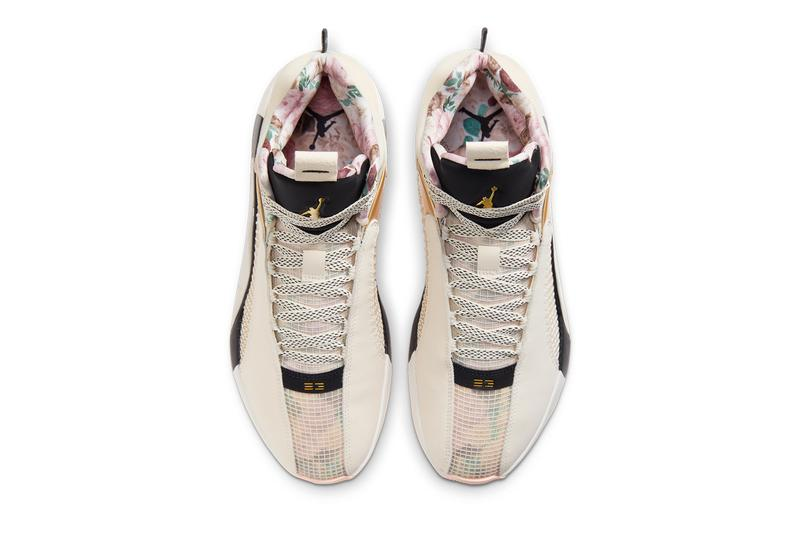 air michael jordan brand 35 paris pale ivory metallic gold black pink dd3668 100 102 pairs official release date info photos price store list buying guide