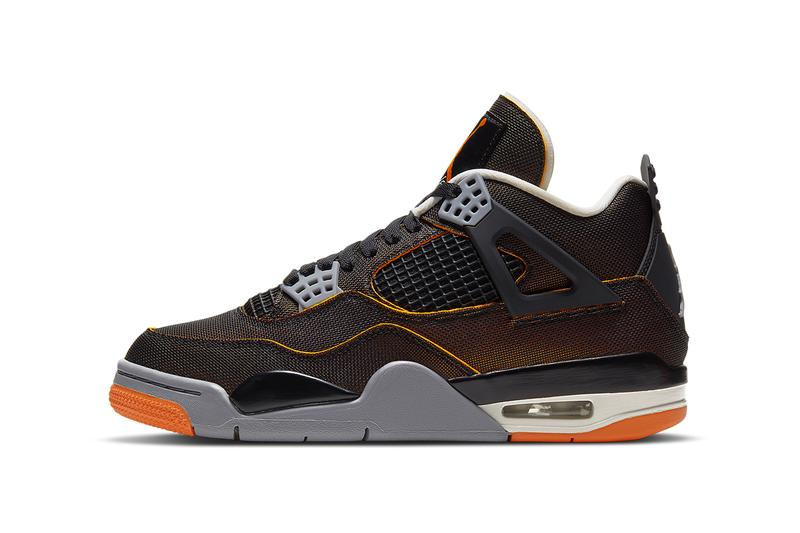 air jordan 4 starfish CW7183 100 release date photos store list black orange grey white buying guide womens