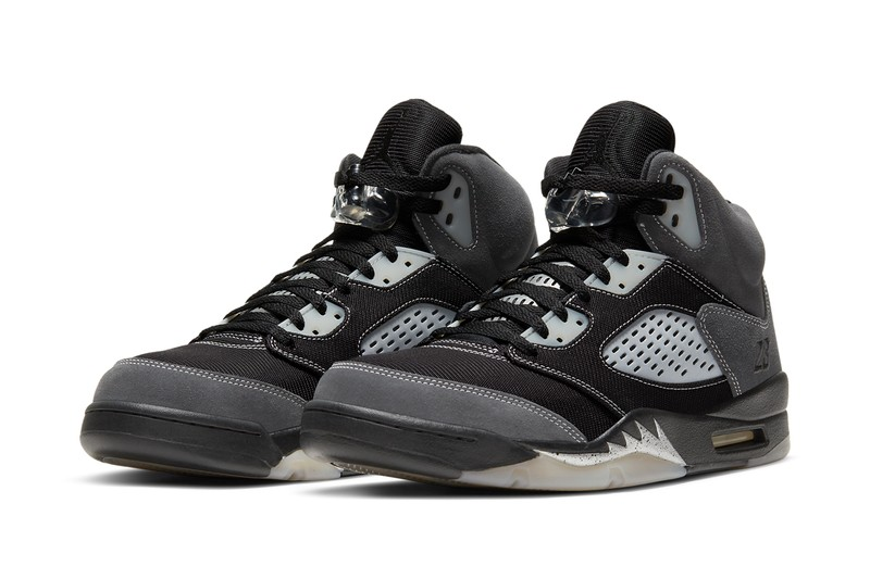 "Official Look at the Air Jordan 5 ""Anthracite"""
