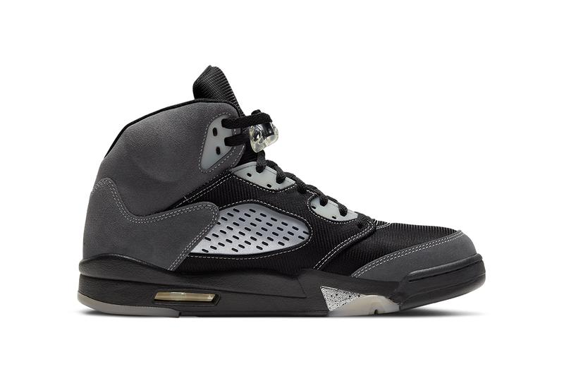 air jordan 5 anthracite DB0731 001 wolf grey clear black release date photos store list buying guide