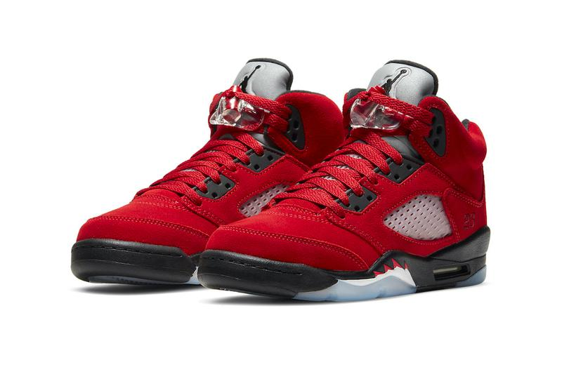 Air Jordan 5 Raging Bull 2021 shoes sneakers trainers runners kicks footwear silhouettes michael jordan 23 jumpman fall winter 2021 fw21 collection dd0587-600