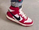 "Yoon Ahn Shares On-Foot Look of an AMBUSH x Nike Dunk High ""Chicago"" Colorway"