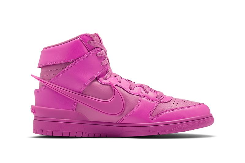 ambush nike dunk high cosmic fuchsia CU7544 600 release info date photos store list price buying guide yoon ahn collaboration