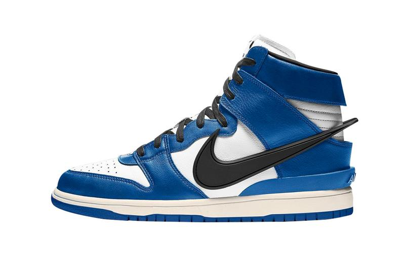AMBUSH Nike Dunk High Deep Royal Blue First Look Release Info CU7544-400 Blue White Pale Ivory Black Price Buy