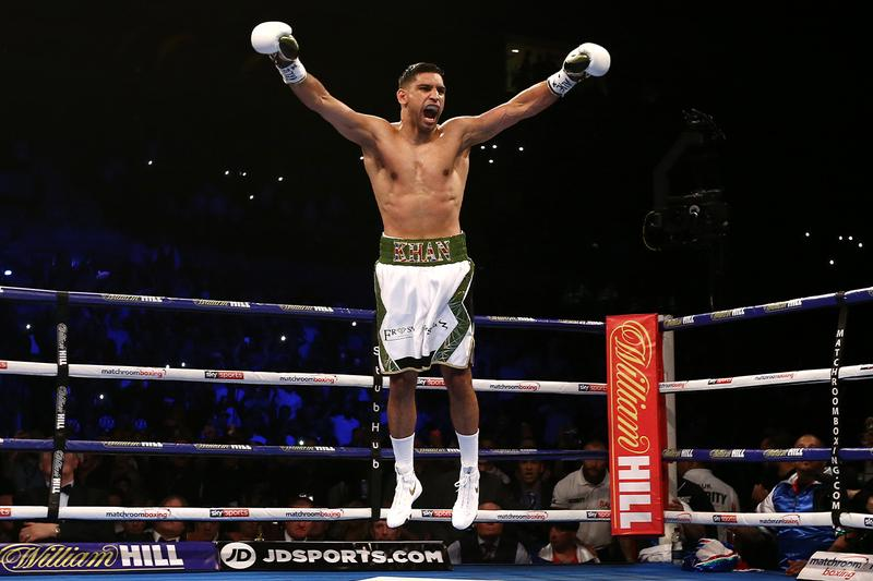 amir khan kell brook boxing 2021 rumours fight ring