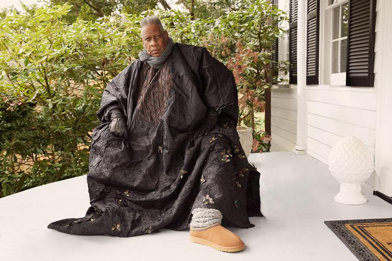andre leon talley ugg collaboration footwear spring summer feel campaign