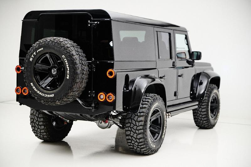 ares design land rover defender spec 1 2 v8 engine 110 sw off road custom build modification