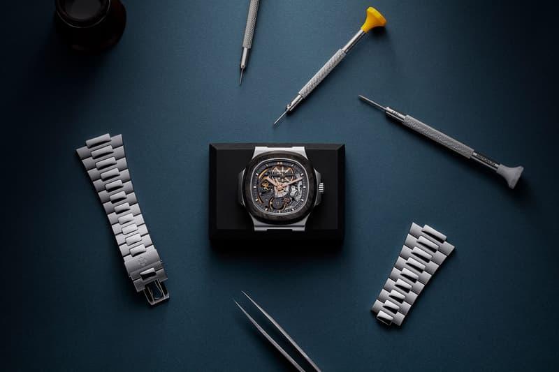Pearl Project Artisans de Genève watches patek philippe Patek Philippe Nautilus watches swiss 5711 custom watches skeletonized carbon forged Nautilus