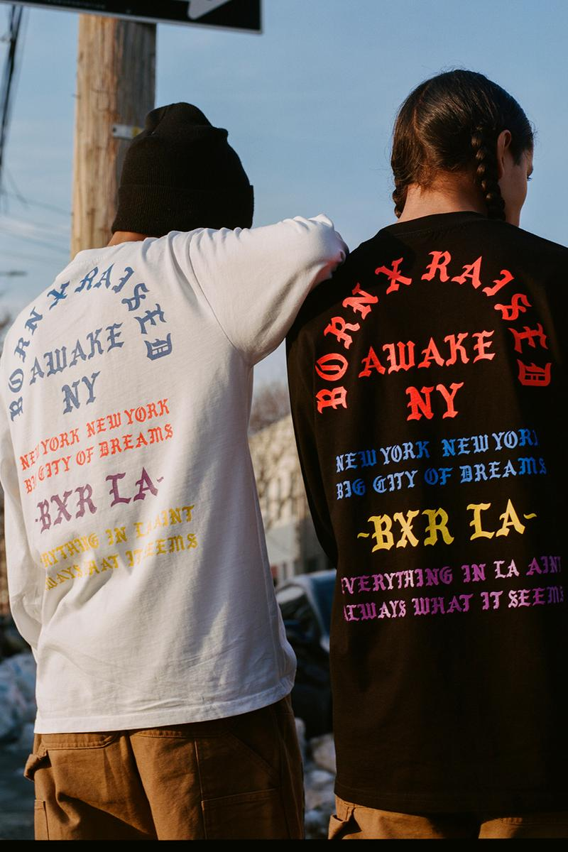 awake ny new york bornxraised carhartt wip capsule collection angelo baque spanto t shirt hoodie work jacket pants official release date info photos price store list buying guide