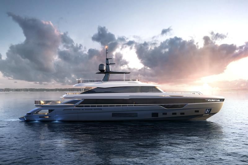 Azimut Grande Trideck Delivers 2021 Release First Three-Deck Luxury Yacht Announcement