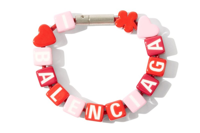 Be the Coolest Kid in the Playground With Balenciaga's Toy Logo Beaded Bracelet