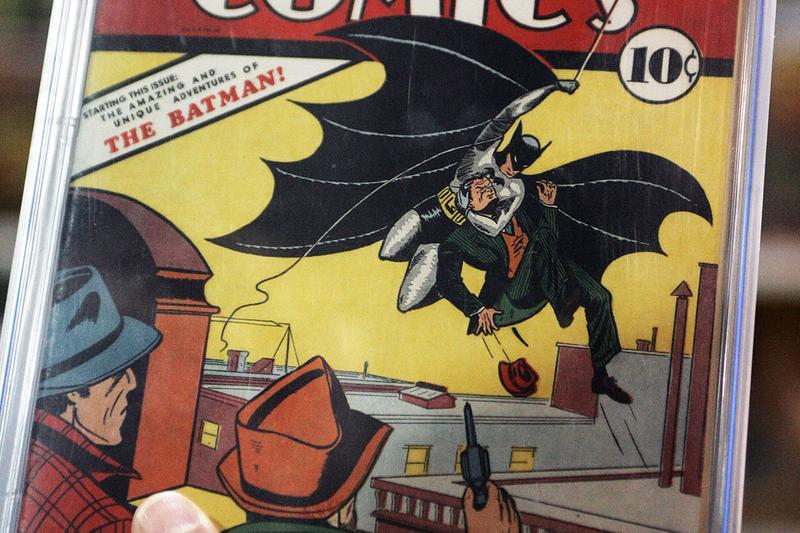 Batman 1 DC sold 2 Million Heritage Auction house issue 1940 Billy T Gates cgc Golden Age super hero character mint 94 certified record break info