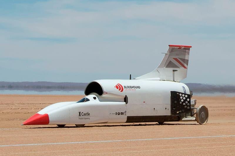 Bloodhound LSR Rocket Car Selling for $11m USD Rocket Car Rolex sponsored Project Air King Revival