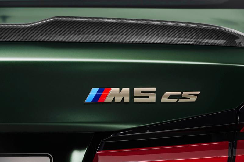 2022 bmw germany automaker m5 cs competition sedan car power horsepower production vehicle 627 output V8 engine
