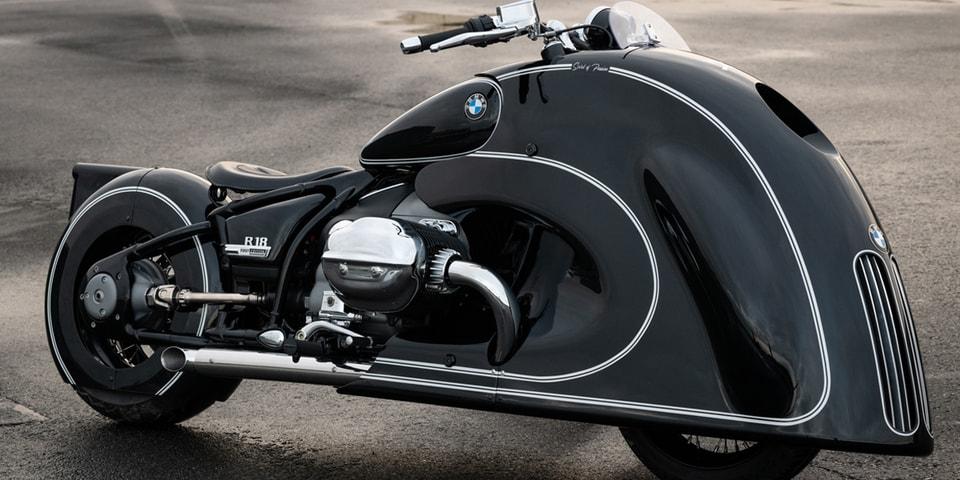 BMW Motorrad Unveils a New Sophisticatedly Sleek Custom R 18 Motorcycle