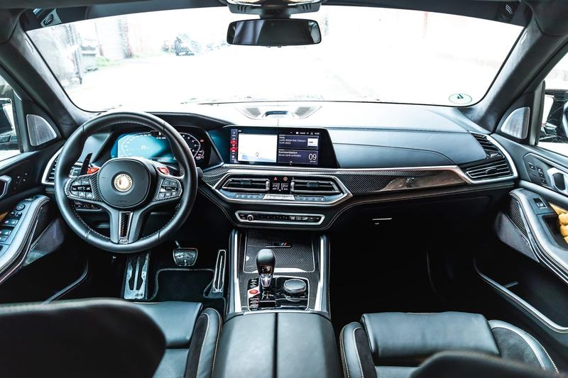 Manhart MHX5 800 BMW X5 M SUVs 4x4 Tuned Custom 812 HP 797 lb-ft Torque Power Speed Performance Luxury Engine Custom Turbo Kit MHtronik 4.4-liter twin-turbocharged V8