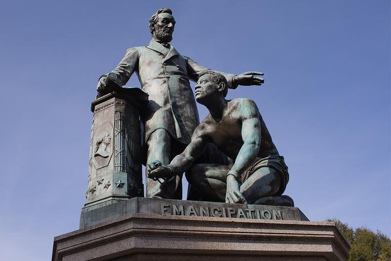 boston emancipation memorial slavery kneeling abraham lincoln statue removal public arts commission