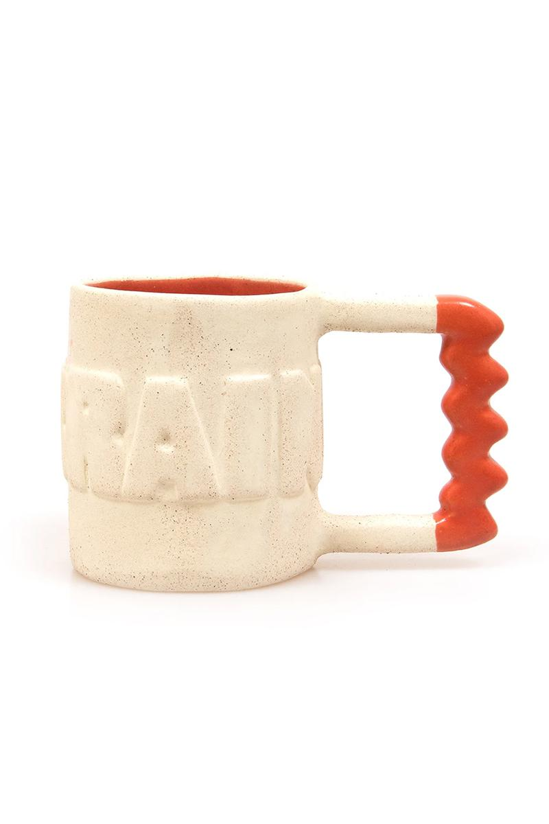 brain dead ceramic vase mug hand made made in mexico release info store list buying guide pink orange yellow