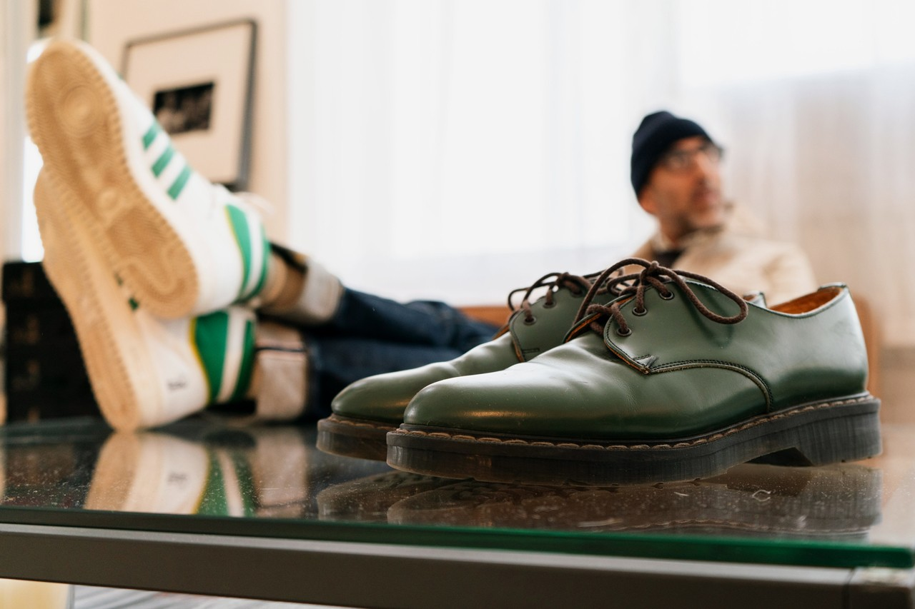 sole mates brendon babenzien noah supreme solovair gibson shoe doc martens interview conversation official release date info photos price store list buying guide