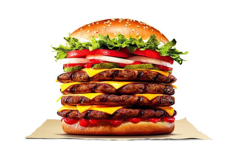Burger King Korea Stacker 4 3 2 Whopper Launch Taste Review