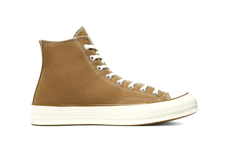 carhartt converse chuck 70 hi hamilton brown egret covert green dark earth release info date price store list photos buying guide