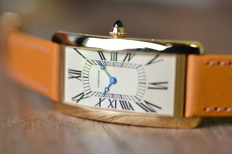 Cartier Tank Cintrée 100 Anniversary Limited Edition watch release louis Hodinkee swiss made timepiece classic dress watch art deco luxury gold mechanical