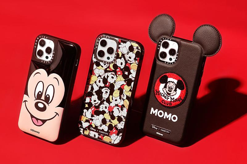 casetify disney mickey mouse collection release info iphone macbook airpods samsung ipad apple watch charging station grip stand sanitizer photos pricing store list buying guide
