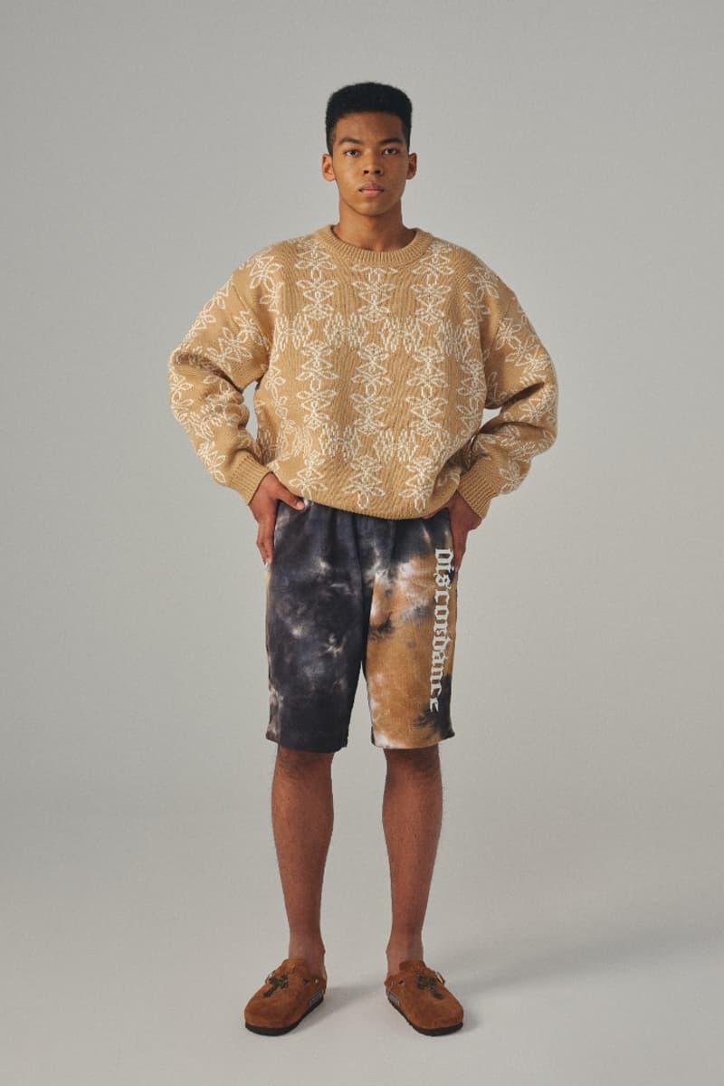 Children of the Discordance FW21 Lookbook 80s Inspired AW21 Milan Fashion Week Digital Dawn Japanese Military Sportswear Nylon Tie Dye Khaki