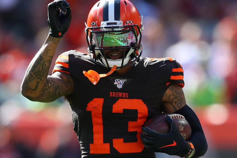 Cleveland Browns NFL Playoffs First In 18 Years American Football Pittsburgh Steelers Odell Beckham Jr. 2002 Victory
