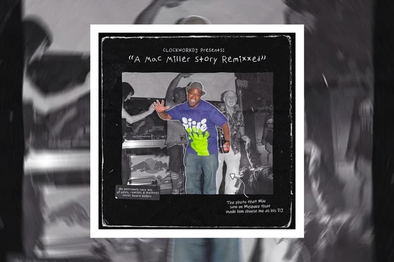 Clockwork Mac Miller Remixxed Stream longtime dj swimming circles kids rick ross anderson paak