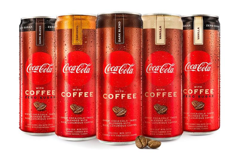 Coca-Cola with Coffee Coffee Zero Sugar Launch Info Dark Blend Vanilla Caramel