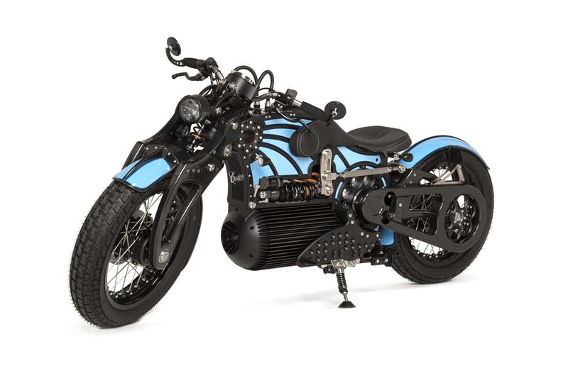 curtiss motorcycles electric motor power website redesign revamp configuration launch customization blog