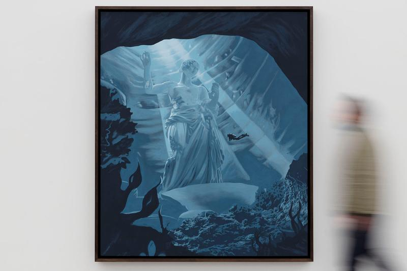 daniel arsham time dilation galerie perrotin exhibition