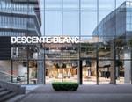 Fluid Displays Simplify Descente BLANC's Immense Beijing Boutique