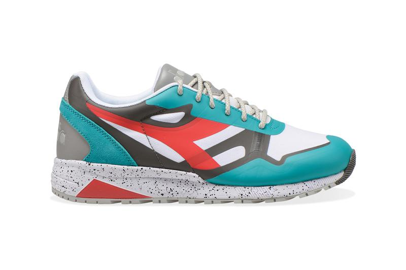 Diadora N902 n9000 outdoor sneaker release information orange white red green