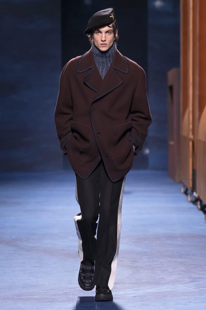 Dior Fall/Winter 2021 Collection Runway Show peter doig kim jones menswear fw21 lookbook