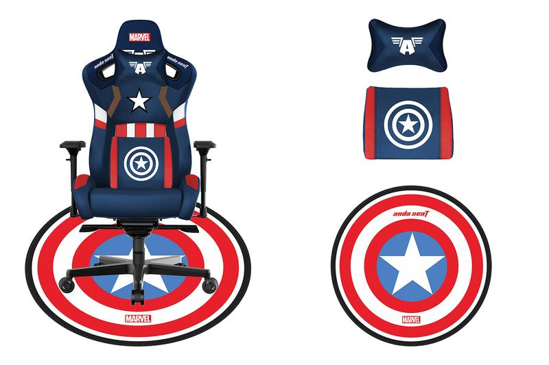 Disney Marvel Avengers AndaSeat Gaming Chairs Release Info Buy Price Captain America Iron Man Spider-Man Ant Man