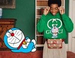 Doraemon Pals Around With Gucci Models in Collaborative Lookbook