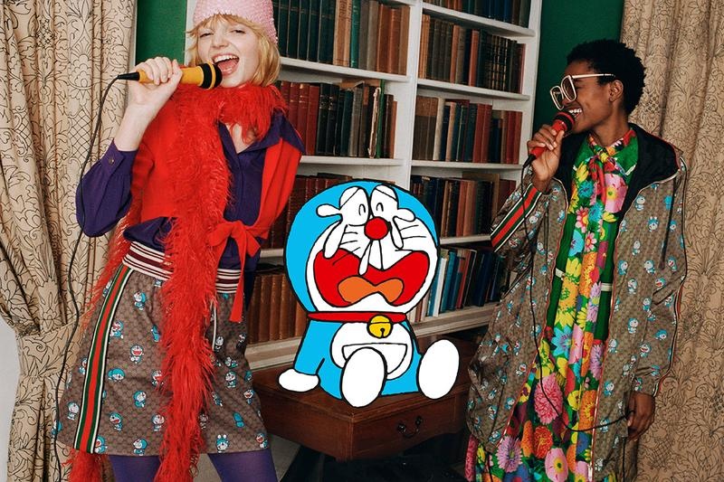 Doraemon x Gucci Chinese New Year Collaboration collection release date info buy january 20 bags apparel ready-to-wear