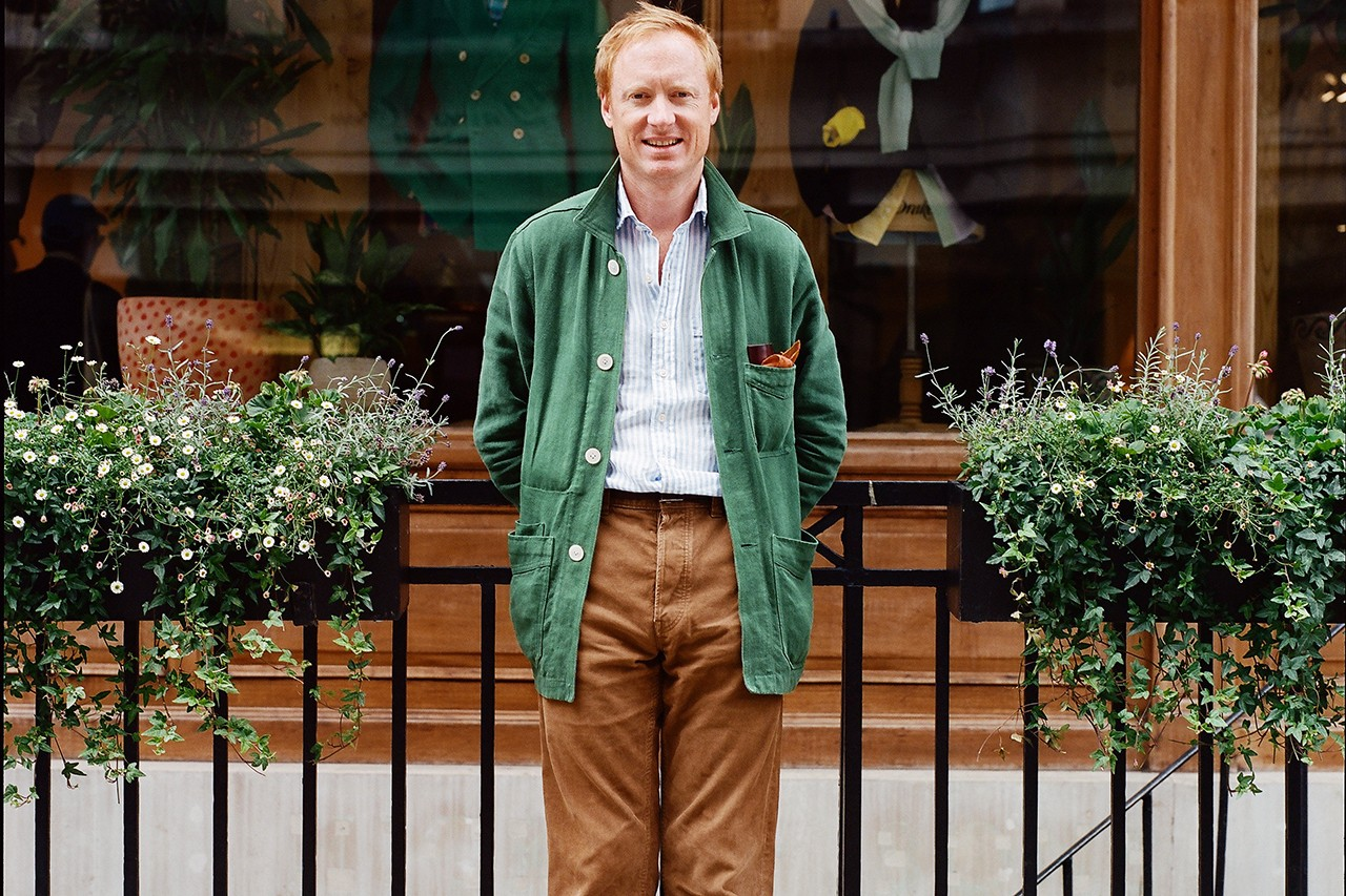 drakes michael hill creative director savile row tailoring suit covid coronavirus details information interview feature