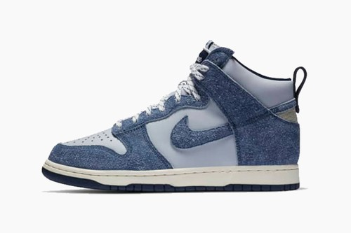 "Notre x Nike Dunk High ""Blue Void"""