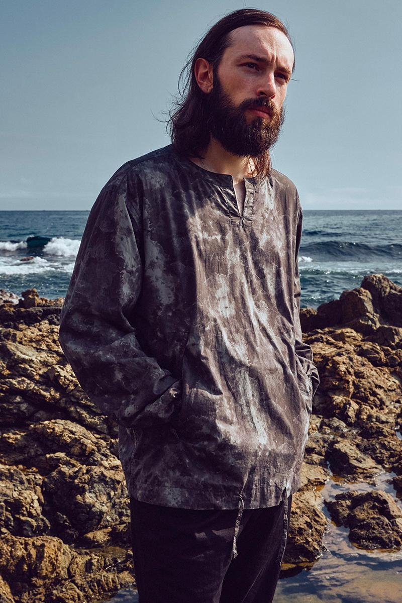 eastlogue spring summer 2021 lookbook menswear streetwear visuals ss21 collection jackets shirts pants trousers button ups tees pants scarves info