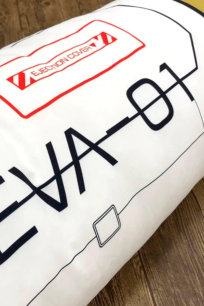 Evangelion Entry Plug Cushion Release Evangelion: 3.0+1.0 plug entry eva unit anime manga japan store home goods products decor pillows