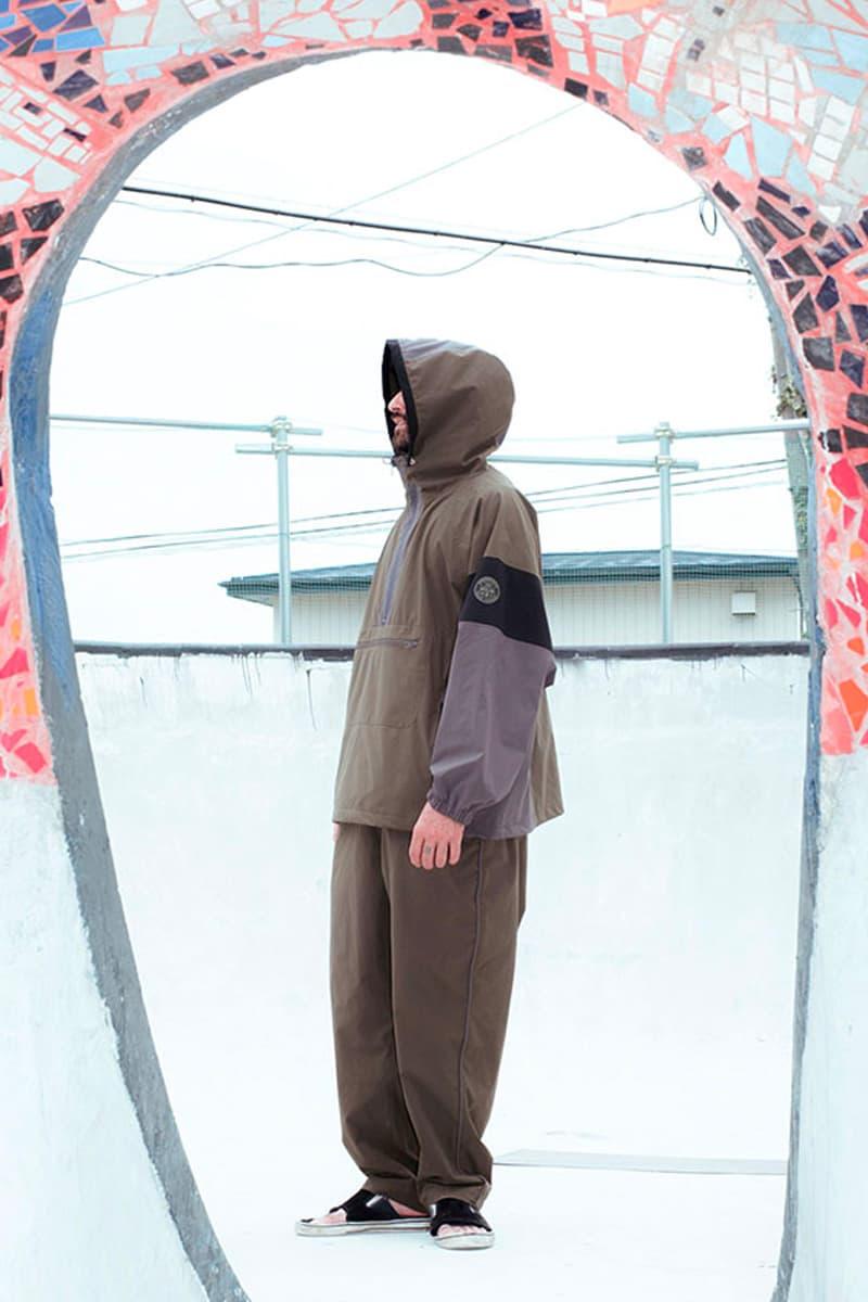 Evisen Skateboards Independent Trucks 2021 Collaboration menswear streetwear sweaters hoodies t shirts tees anorak pants trousers collab lookbooks