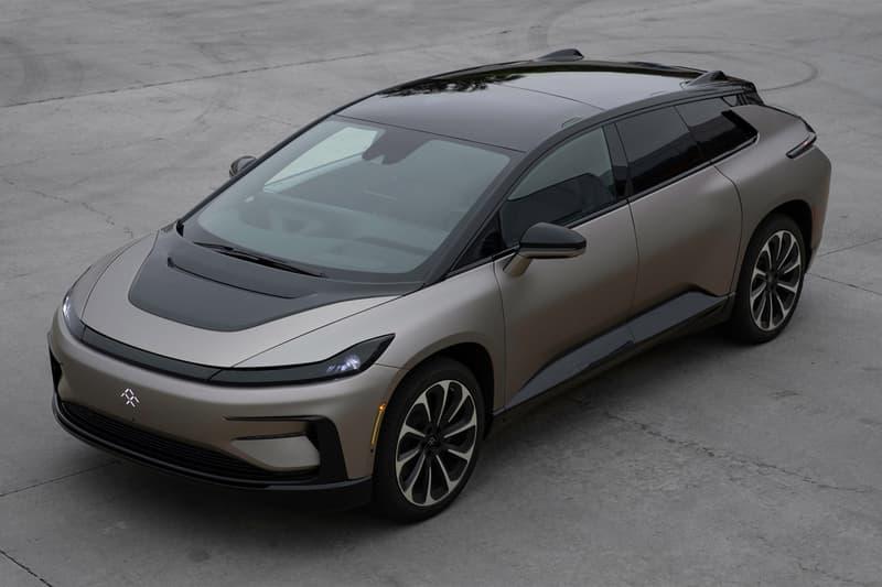 faraday future electric car vehicle ev automaker manufacturer initial public offering ipo public 1 one billion usd fund raise