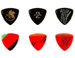 "Fender Drops a Set of Evangelion-Themed ""Asuka"" Guitar Picks"