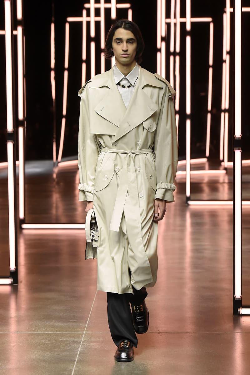 Fendi Menswear FW21 Collection Milan Fashion Week Fall Winter 2021 Silvia Venturini Fendi Luxury Fashion